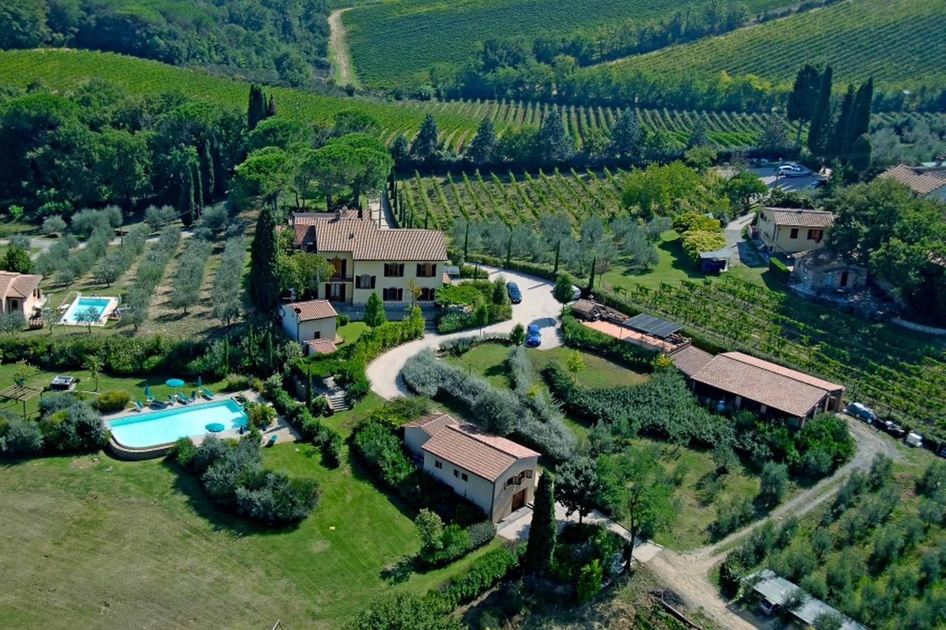 Agriturismo Toskana Agriturismo Toskana, mit einzigartigem Blick auf San Gimignano