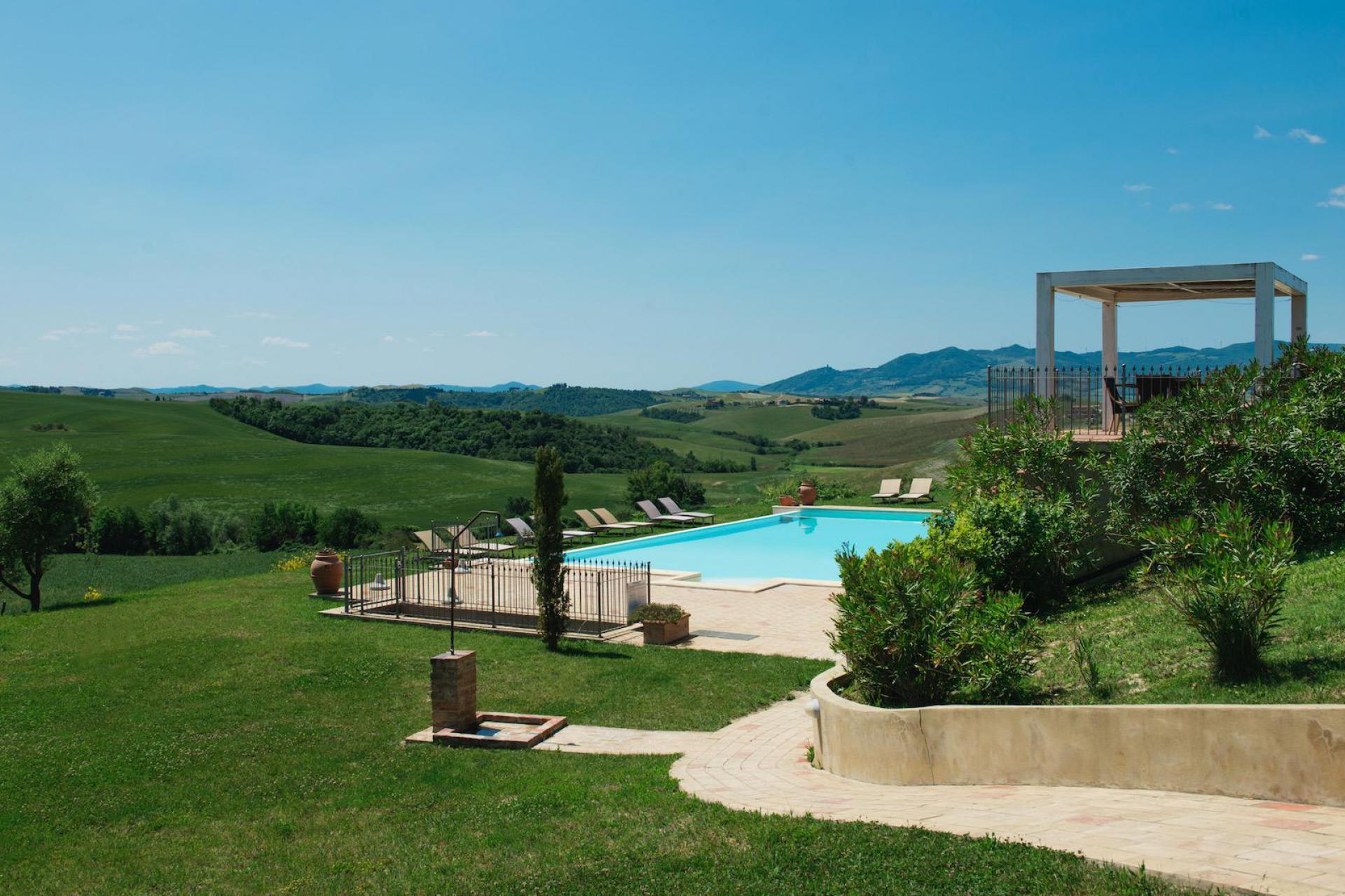Agriturismo Toskana Agriturismo Toskana mit Pool und Panoramablick