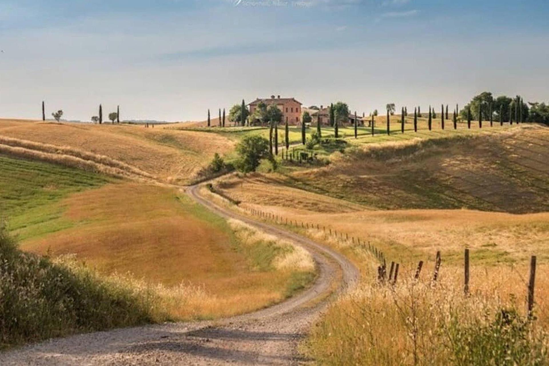 Agriturismo Toskana Kleiner Agriturismo mit Aussicht auf Siena   myitalyselection.de