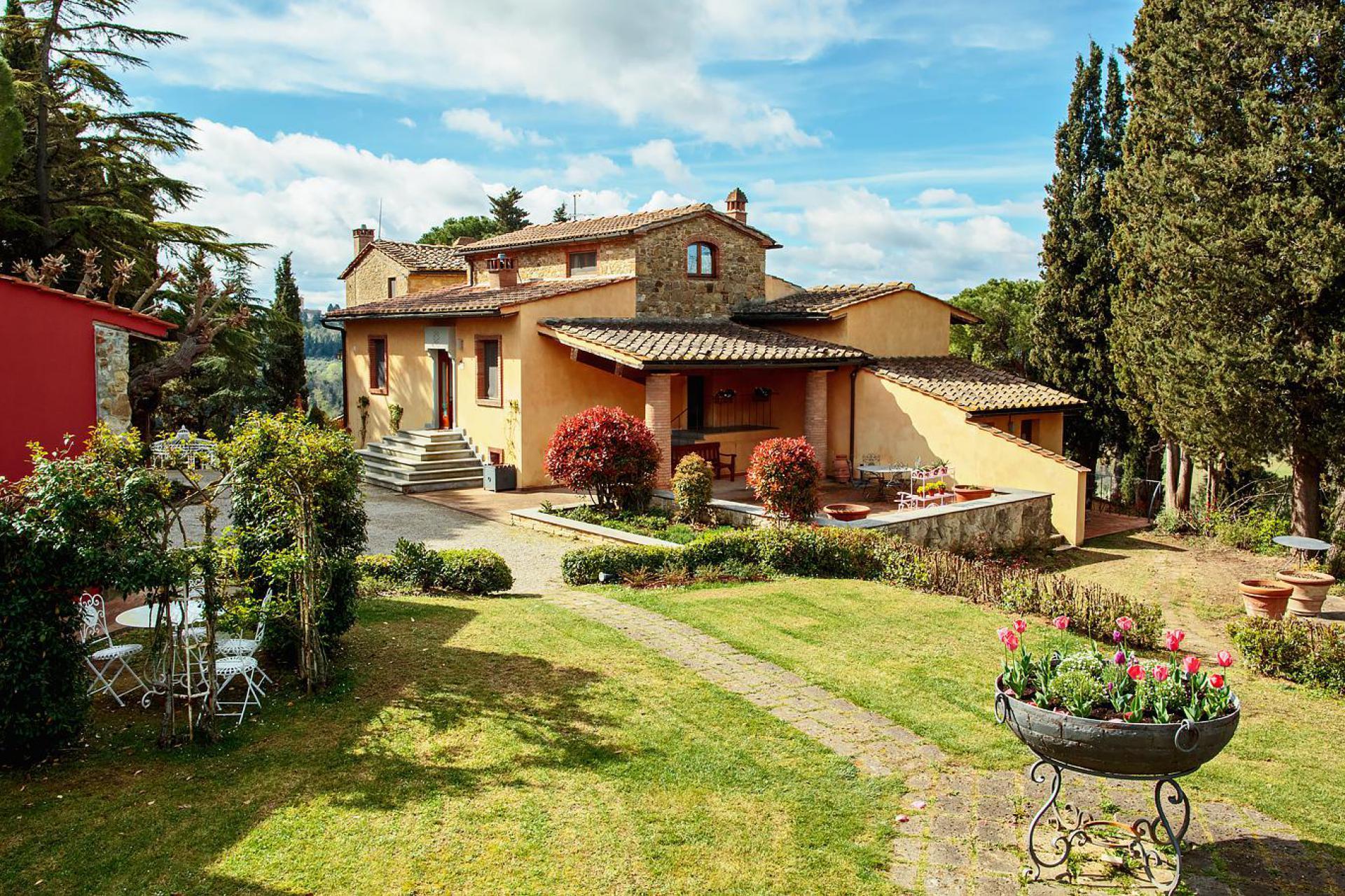 Agriturismo Toskana Agriturismo Toskana, luxuriös und bei San Gimignano