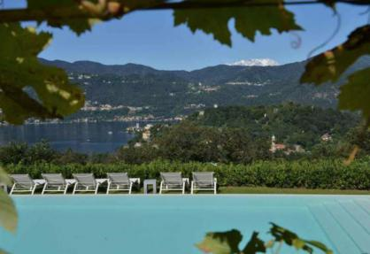 Agriturismo Lago Maggiore, mit sehr schönem Blick