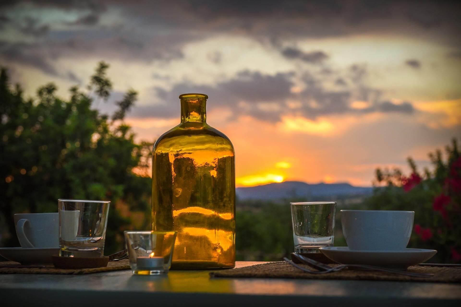 Agriturismo Sizilien Toller Agriturismo mit Blick auf Noto und in der Nähe des Meeres