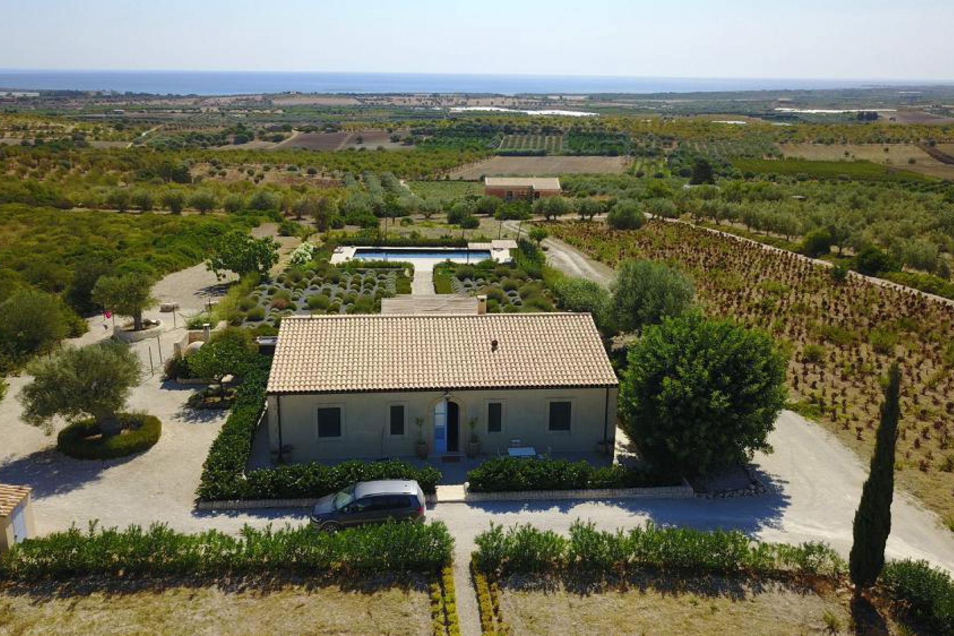 Agriturismo Sizilien Villa Sizilien mit privatem Pool und Meerblick