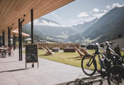 Luxus-Agriturismo in den Dolomiten mit Spa und Bistro